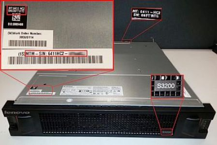 For Other Hardware like CPU power supply-SMPS and others look near the Power Source or on the side of the case. There will be a white colored sticker with a bar code containing description about the product. In it you will find a combination of numbers starting with SN or S/N tag, that will be your serial number for that product
