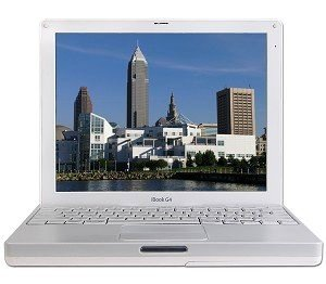Apple G4 iBook Laptop