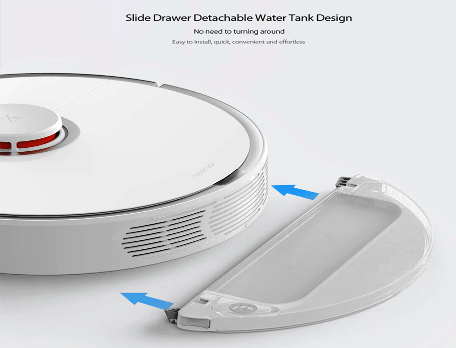 Roborock S50 Smart Robot Vacuum Cleaner Design & Look