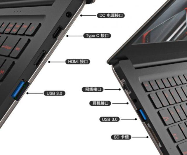 T - Bao Tbook X8S Pro Ports & Connectivity