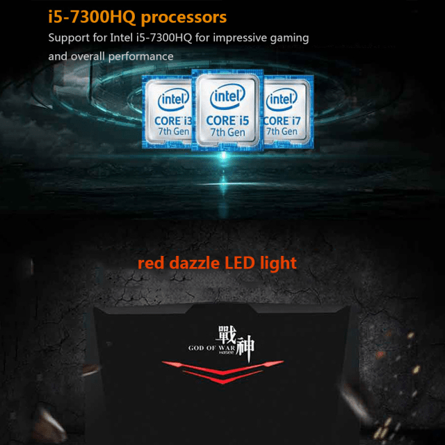 Hasee God of War T6 Processor