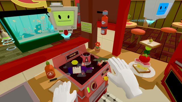 Job Simulator VR game