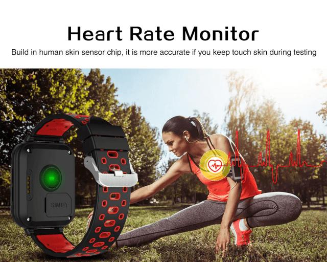 Finow Q1 Pro Calling Heartrate Monitor