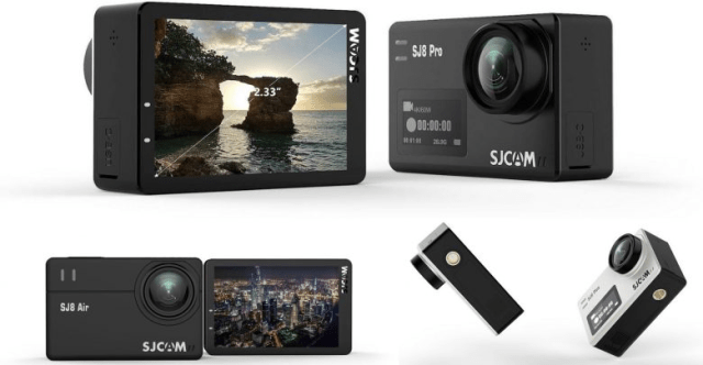 SJCAM SJ8 Pro Action Camera Design