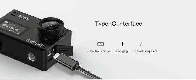 SJCAM SJ8 Pro Action Camera USB Type