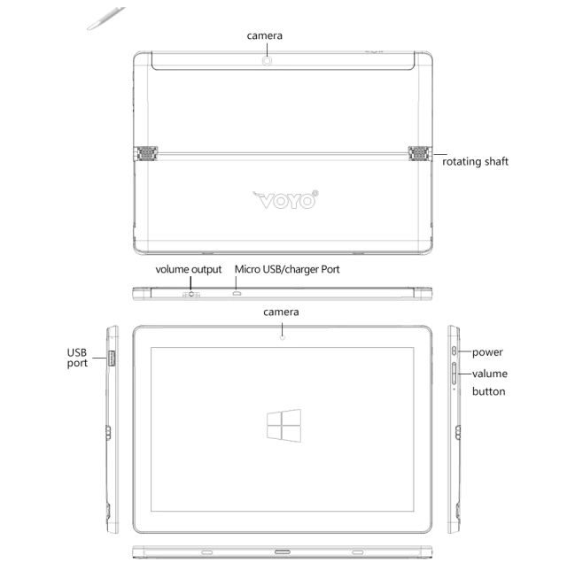 VOYO VBOOK I7 Design