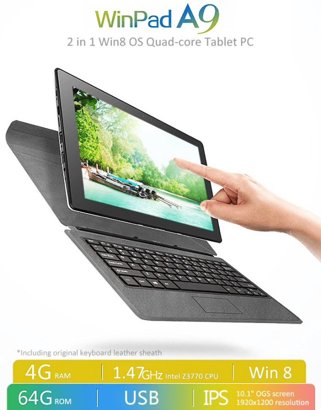 Voyo WInpad A9 Overview