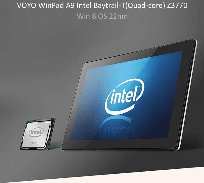 Voyo WInpad A9 Processor