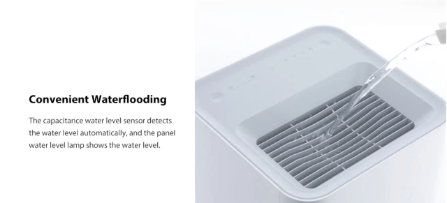 Xiaomi Smartmi Air Humidifier Water Flow