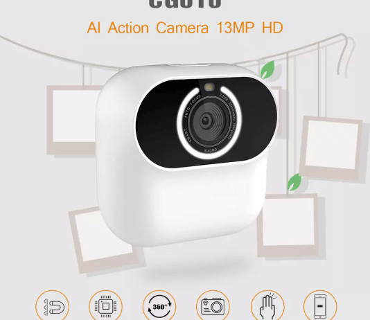 CG010 AI Action Camera Overview