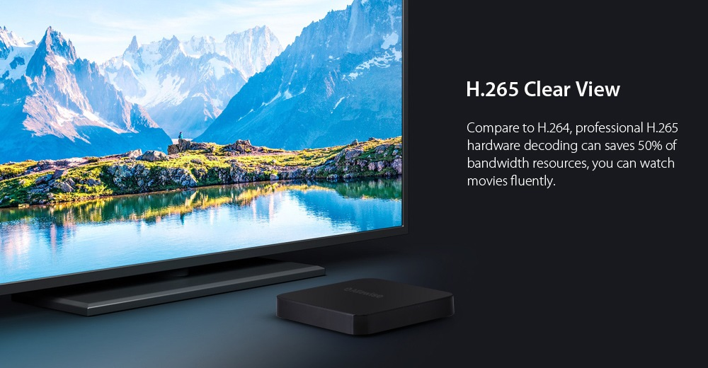 Alfawise Z1 Android Smart TV Viewing Experience
