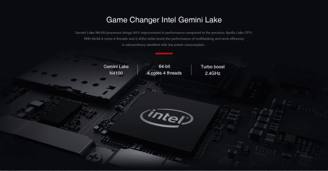 CHUWI GBox Mini PC Processor