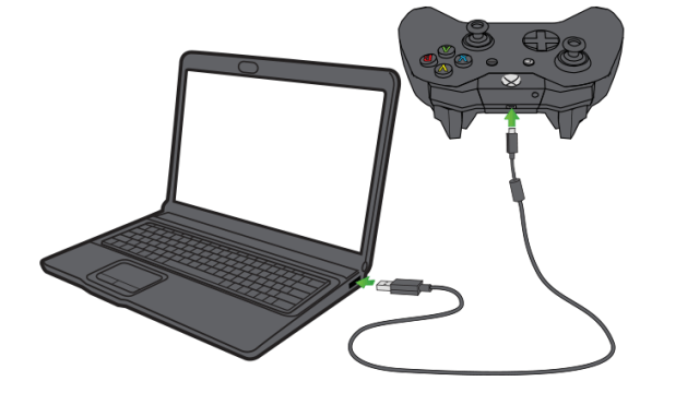 How to connect Xbox one controller to PC Via USB