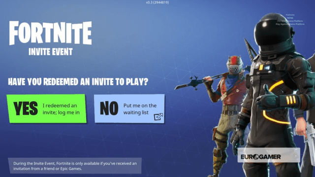 How to get Fortnite on iOS Redeem Invite
