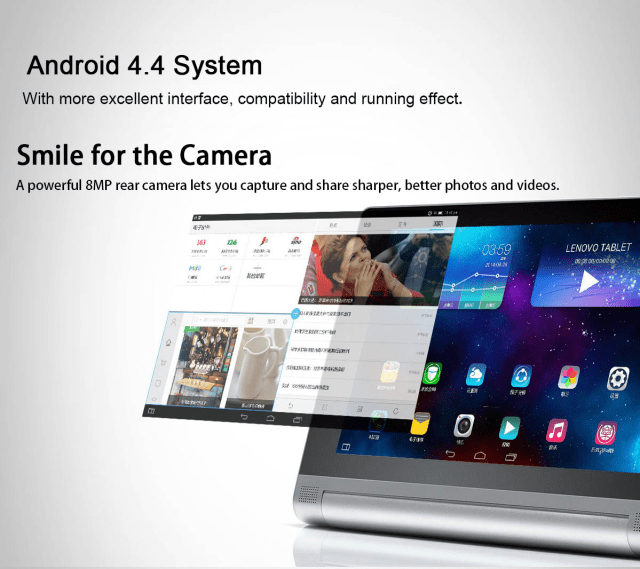 Lenovo Yoga 2 Camera