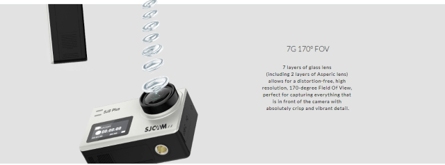 SJCAM SJ8 Plus Camera