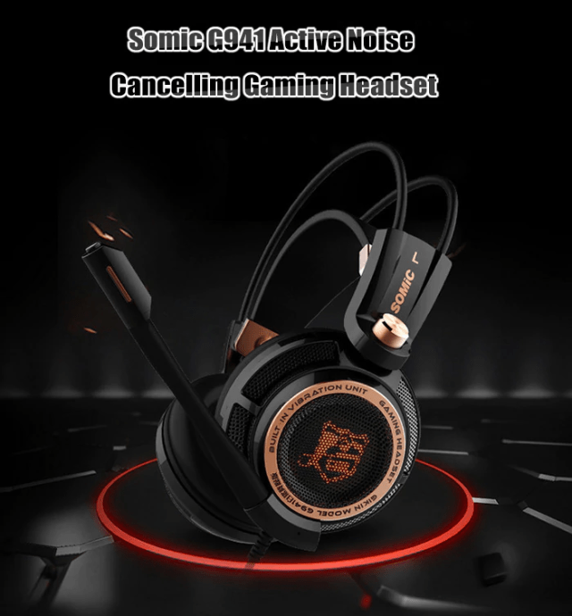 SOMIC G941 USB GAMING HEADSET Look