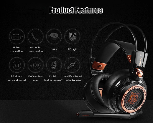 SOMIC G941 USB GAMING HEADSET Overview