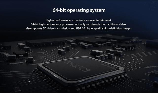 Scishion AI One Android 8.1 TV Box Power Processor