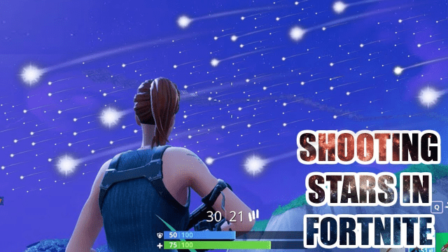 When is meteor hitting tilted towers Shooting Stars