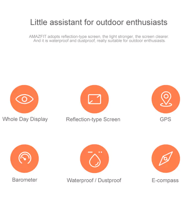 Xiaomi Amazfit Smartwatch Little Assistant