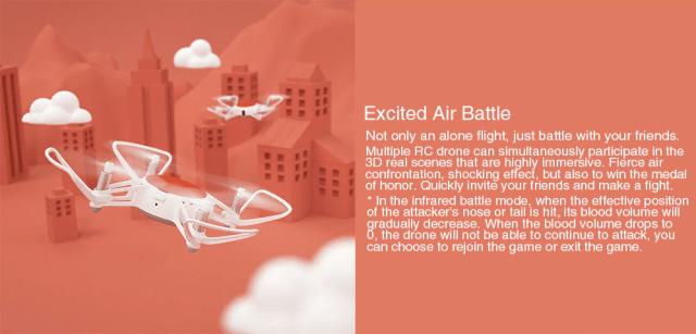 Xiaomi MITU Mini RC Drone Battle mode