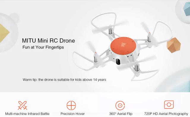 Xiaomi MITU Mini RC Drone Overview