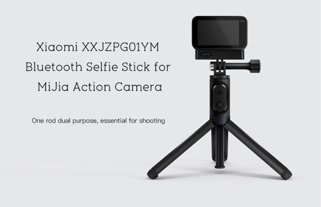 Xiaomi XXJZPG01YM Bluetooth Selfie Stick Overview