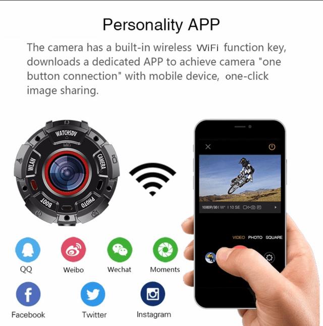 ZGPAX S222 Action Camera App