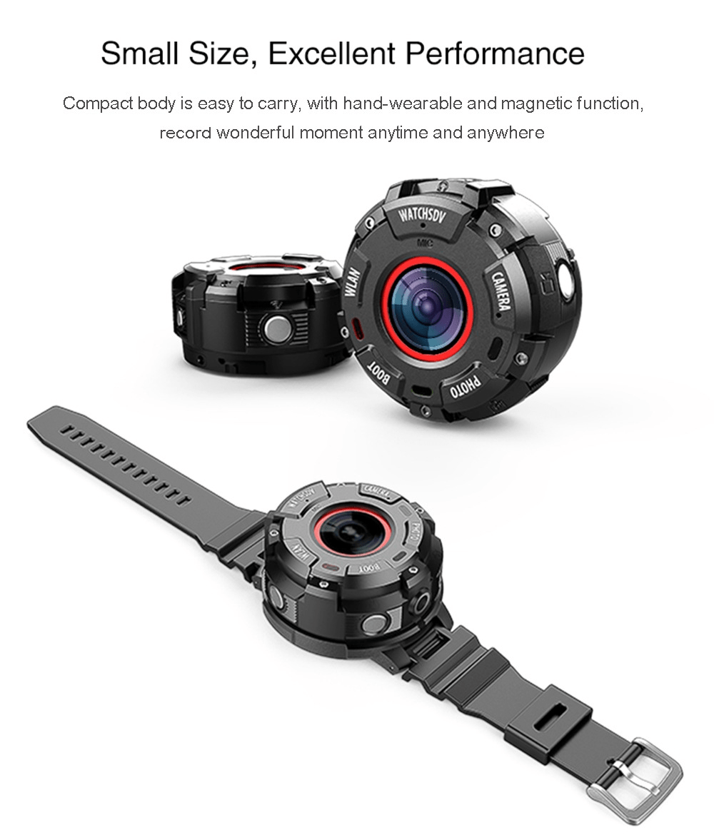 ZGPAX S222 Action Camera Weight and Size