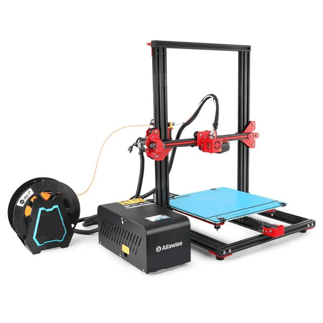 Alfawise U 20 Large Scale DIY 3D Printer Look