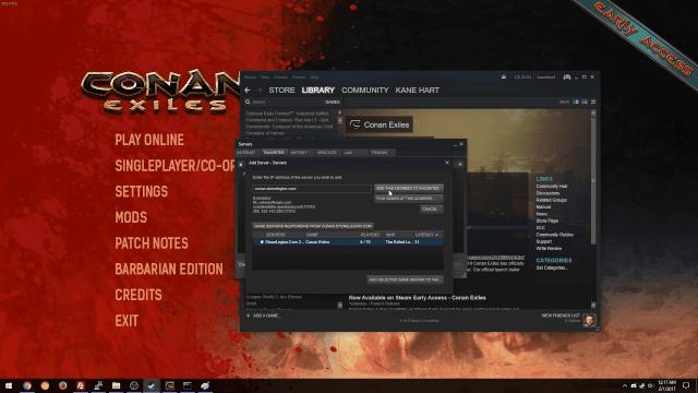 Conan exiles servers down