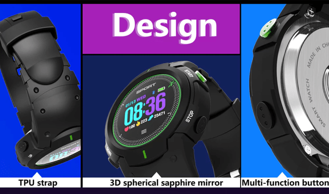 DTNO.I F13 Smart Watch Design
