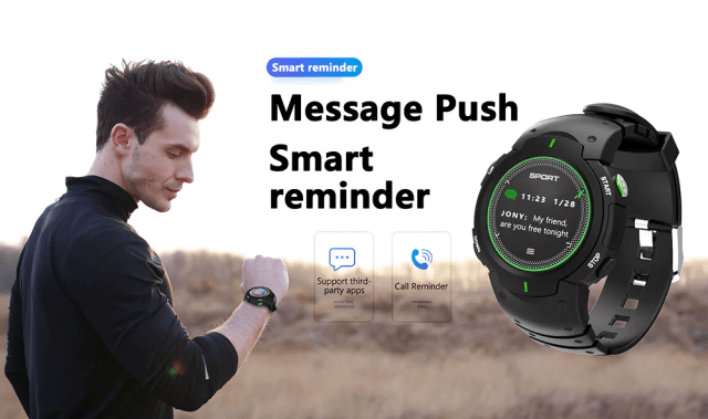 DTNO.I F13 Smart Watch Smart Reminder