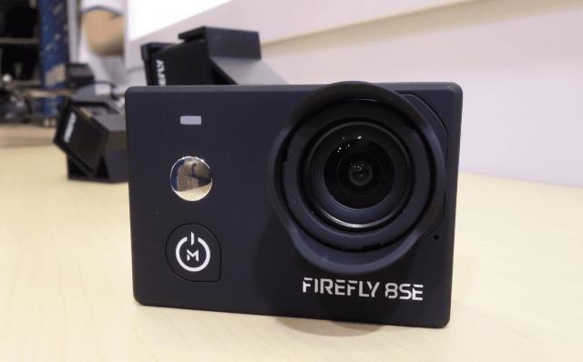Hawkeye Firefly 8SE Action Camera Design