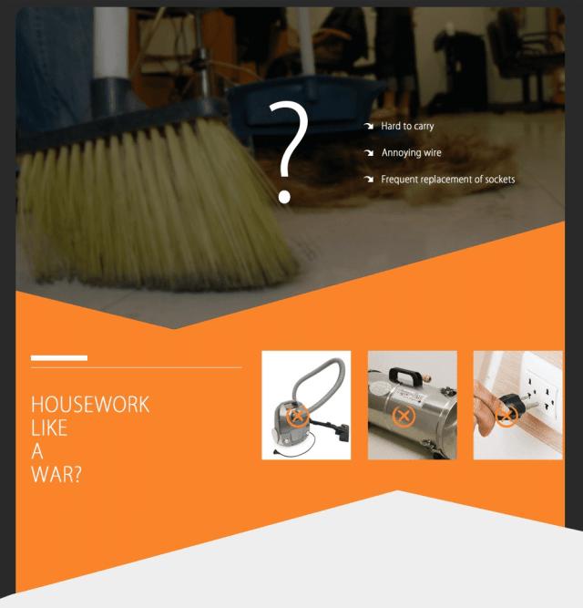 WP536 Handheld Vacuum Cleaner Benefits