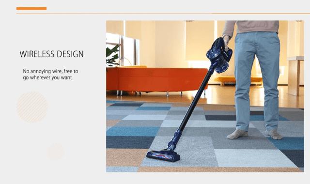 WP536 Handheld Vacuum Cleaner Design