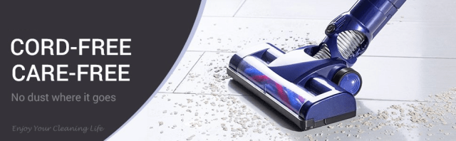 WP536 Handheld Vacuum Cleaner Work