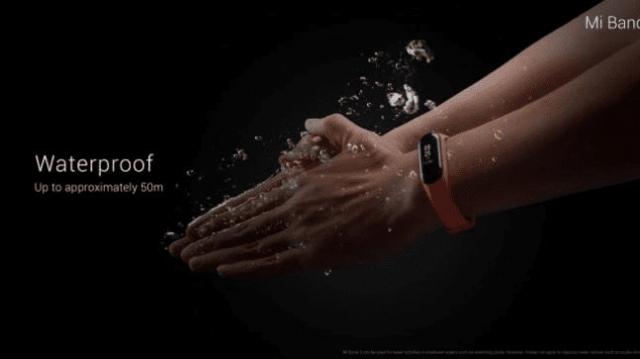 Xiaomi Mi Band 3 5 ATM Resistance