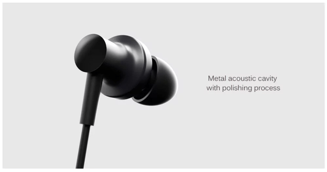 Xiaomi QTEJ03JY Hybrid Earphones Design