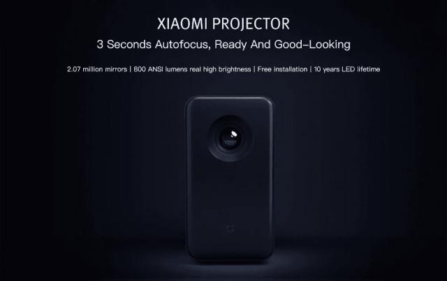 Xiaomi TYY01ZM DLP 3500 Lumens Projector Look