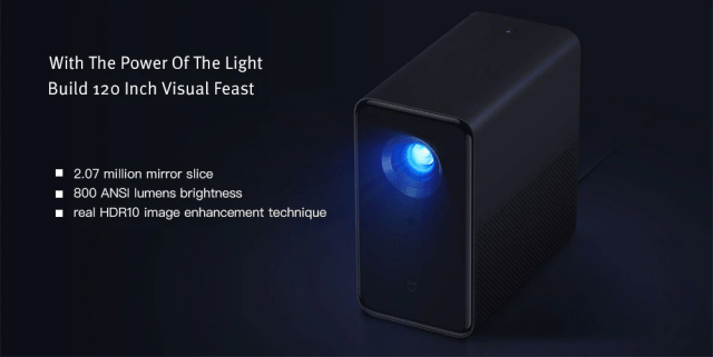Xiaomi TYY01ZM DLP 3500 Lumens Projector Viewing