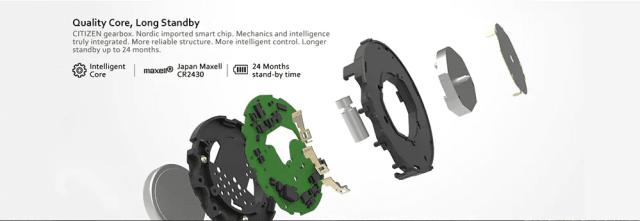 Zeblaze VIBE LITE Smart Watch Battery
