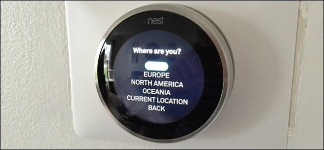 Put Up YourNest Thermostat