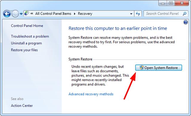 How to Fix Error 3002 System Restore