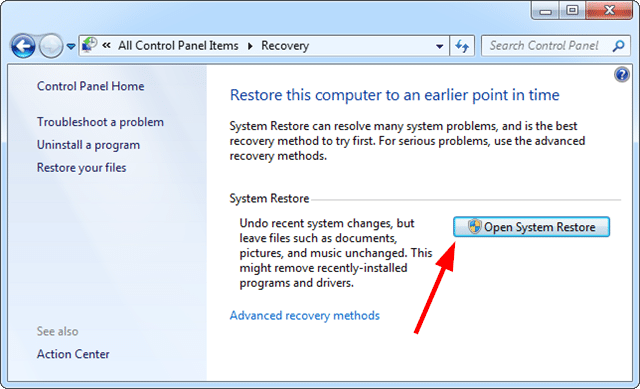 How to Fix Error 3002 System Restore