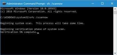 How to fix Error 1602 Fix 2. System Scan