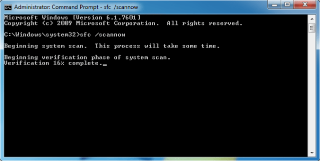 How to fix error 42 Fix 1 Sfc scan