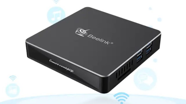 Beelink N41 N4100 Mini PC Design