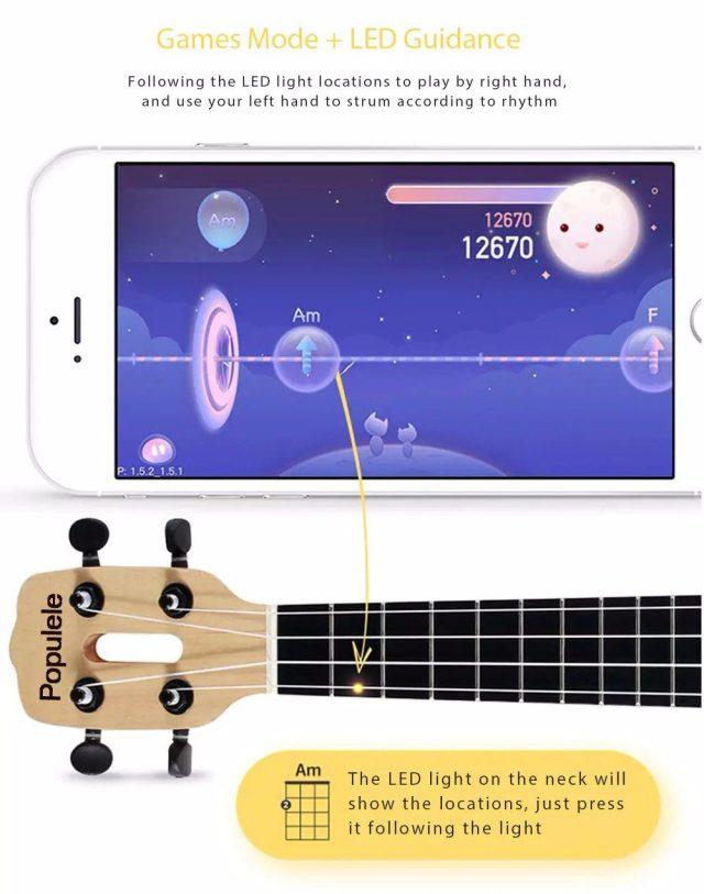 Xiaomi Populele Smart Ukulele App games